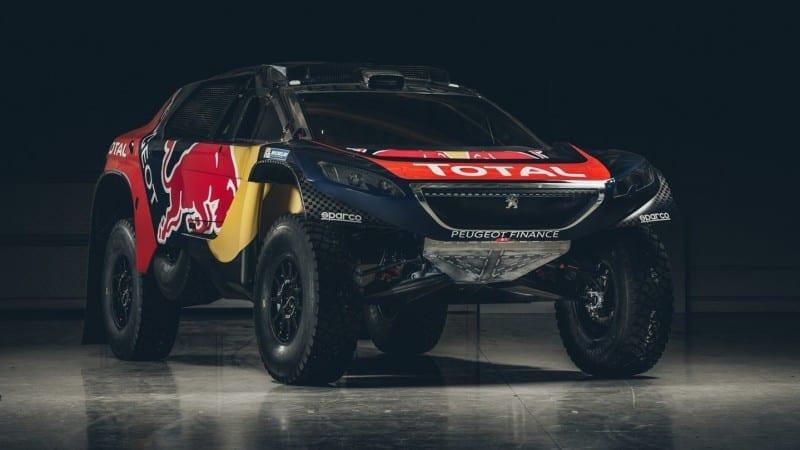 Peugeot 2008 DKR primește sponsorizarea Red Bull