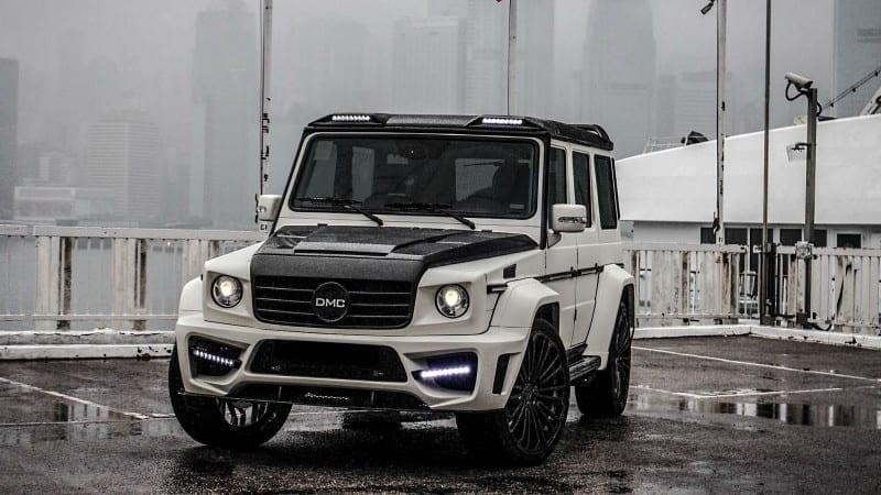 El este Zeus, cel mai lat Mercedes-Benz Clasa G