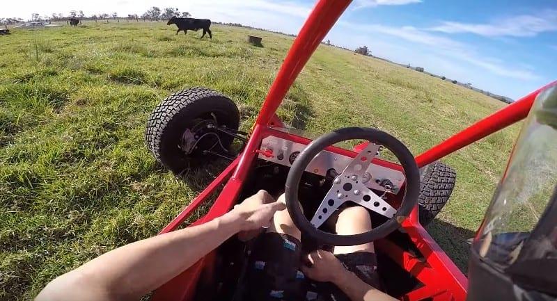 Distracție de oameni mari – Un buggy cu motor de Hayabusa