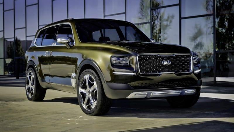 Kia Telluride este conceptul cu care coreenii prefigurează viitoarea gamă de SUV-uri
