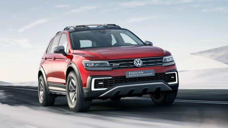 Volkswagen Tiguan GTE Active Concept a debutat la Detroit