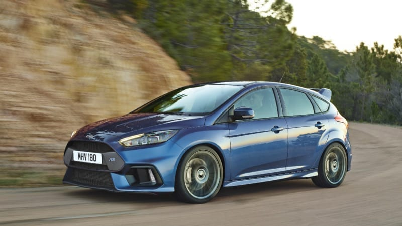 Ford Focus RS pleacă de la 37.000 de euro