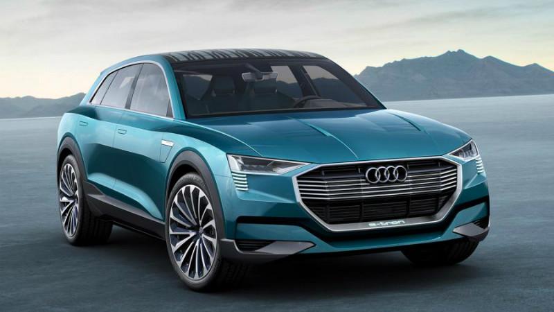 Audi h-tron quattro vine la Detroit