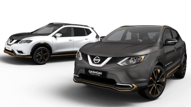 Nissan Qashqai și X-Trail vor primi la Geneva versiunea Premium Concept