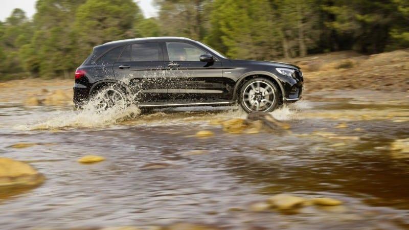 Mercedes-AMG GLC 43 4Matic – Rupere de nori