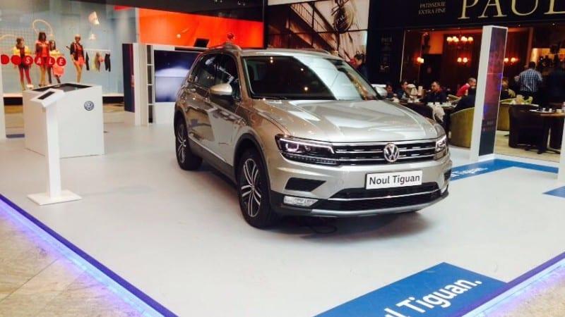 Hai la mall să vezi noul Volkswagen Tiguan