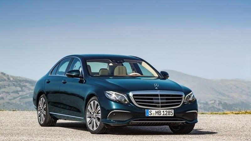 Mercedes-Benz Clasa E a ajuns în România și plecă de la 39.595 de euro