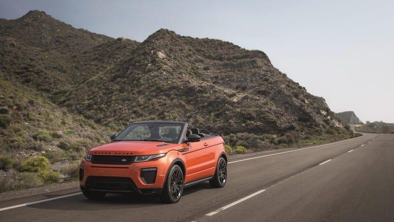 Range Rover SV Autobiography și Evoque Cabrio vin la New York