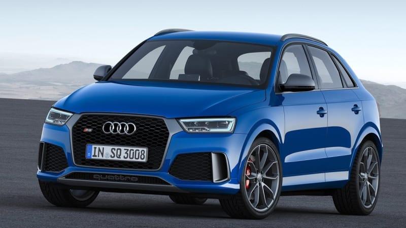 Audi RS Q3 Performance a ajuns la Geneva