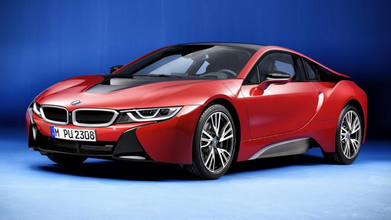 BMW i8 facelift debutează la anul