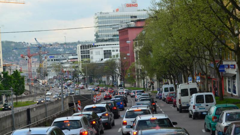 Locuitorii orașului Suttgart au fost rugați să-și lase mașinile acasă