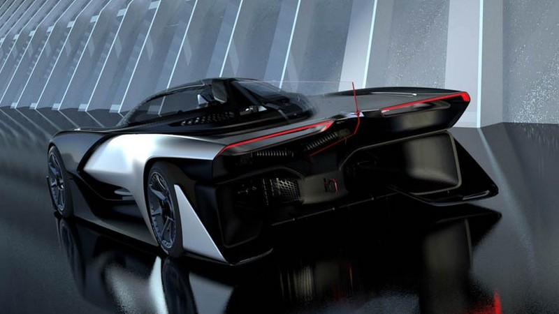 Faraday Future FFZERO1 – Conceptul electric de peste 1.000 CP