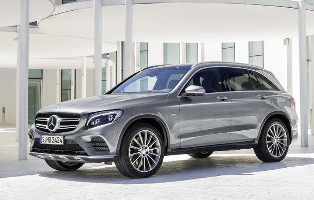 Mercedes-Benz GLC F-Cell – Versiunea alimentata cu hidrogen vine in 2017