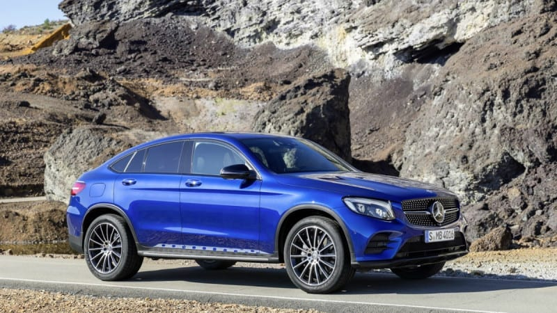 Mercedes-Benz GLC Coupe – Atac la X4