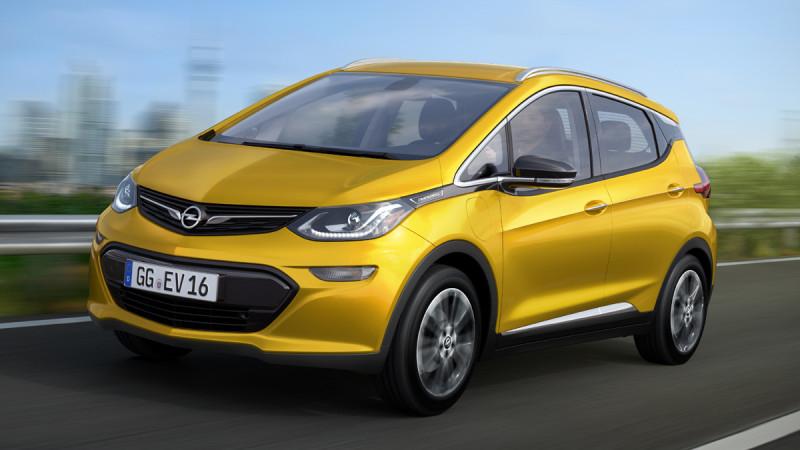 Opel Ampera-e, primul electric complet al nemților va avea un preț accesibil