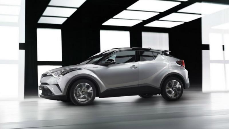 Din 2020, Toyota C-HR va avea și o variantă 100% electrică