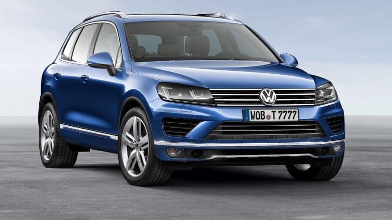 Peste 800.000 de exemplare Volkswagen Touareg și Porsche Cayenne, rechemate în service