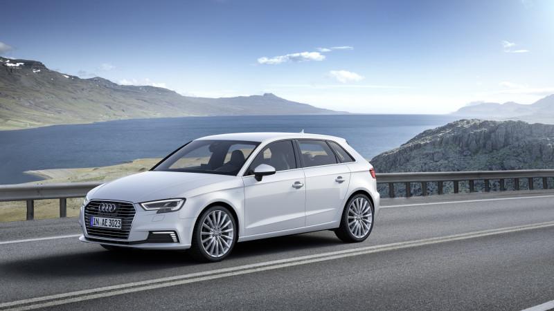 Audi a prezentat A3 Sportback e-tron facelift