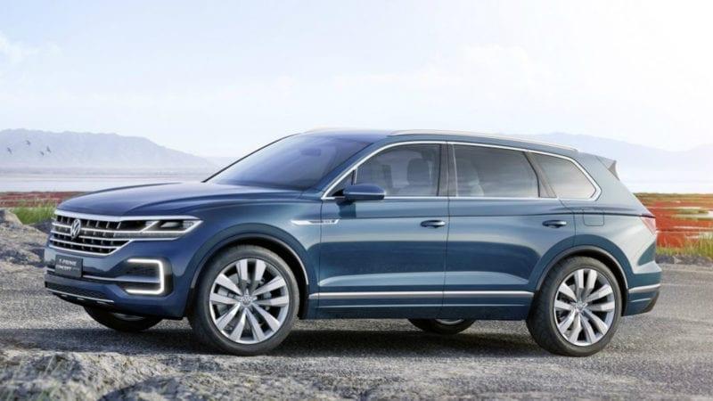 Volkswagen T-Prime Concept GTE sau ipoteză de design pentru Touareg
