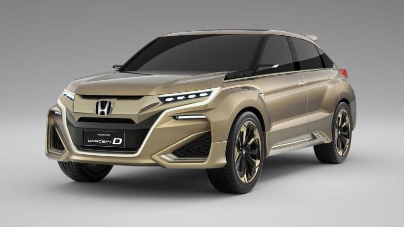 Honda vine la Beijing cu un SUV de clasă medie