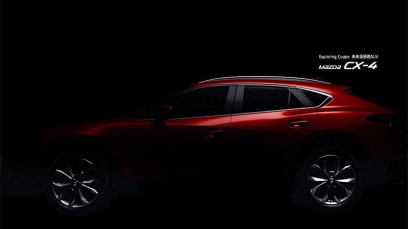 Mazda CX-4 – O nouă serie de imagini teaser