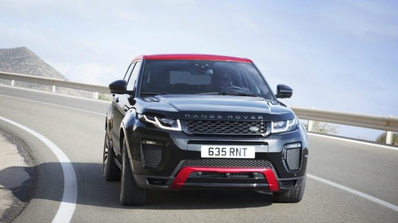 Range Rover Evoque are parte de o actualizare discretă
