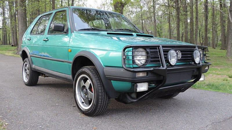 Povestea lui Volkswagen Golf Country Syncro – Pe vremea când nu existau crossovere