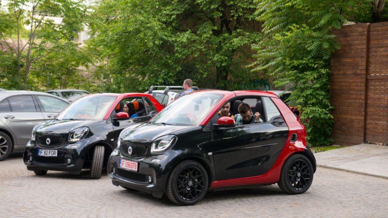 Noul smart fortwo cabrio este disponibil și în România