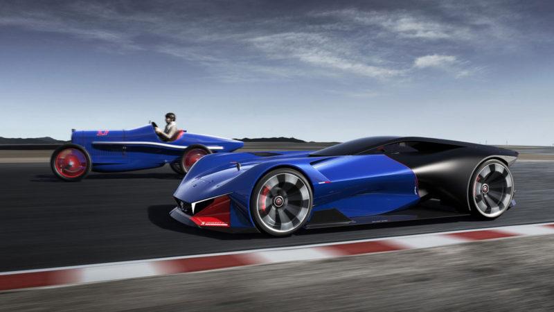 Peugeot L500 R Hybrid, concept dedicat motorsportului