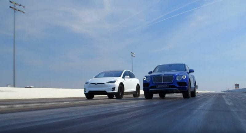 Bentley Bentayga versus Tesla Model X