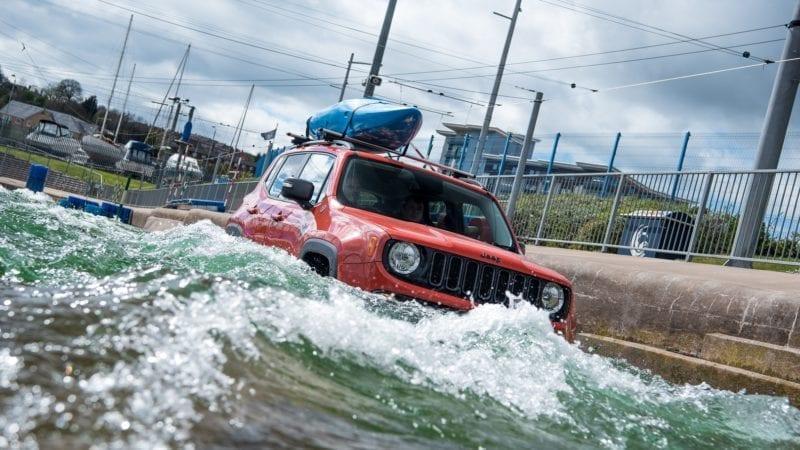 Jeep îl duce pe Renegade la Olimpiadă