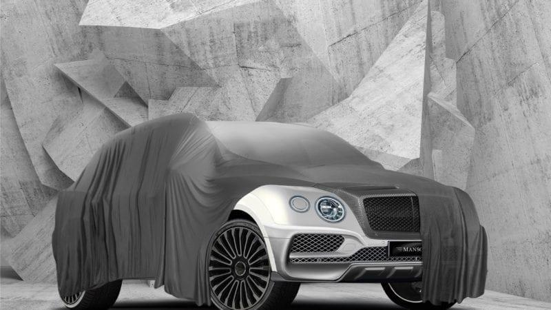 Mansory aduce un pachet pentru Bentley Bentayga