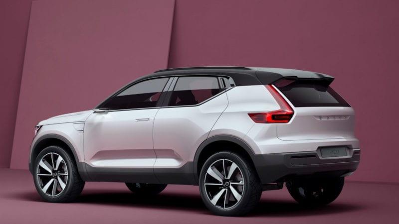 Volvo a lansat două concepte care prefigurează două modele compacte