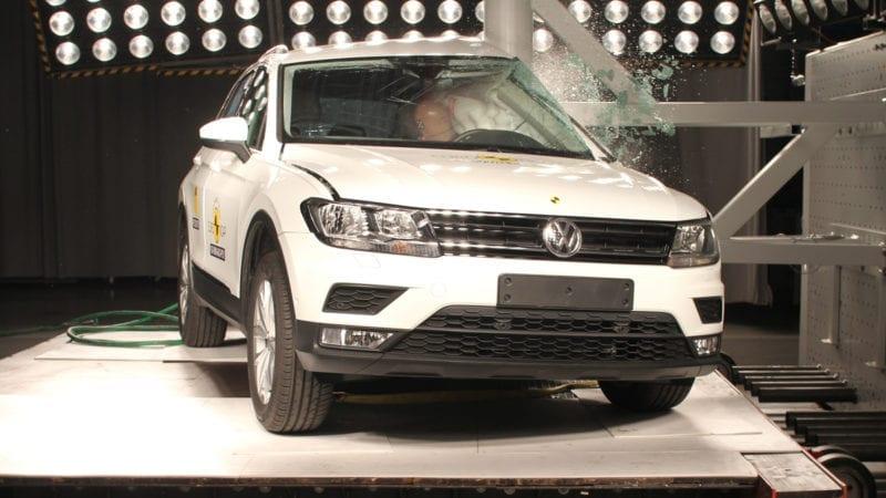 Volkswagen Tiguan și Seat Ateca primesc 5 stele din partea EuroNCAP