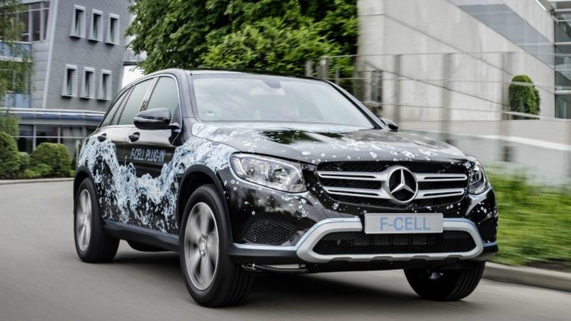 Detalii noi despre viitorul Mercedes-Benz GLC F-Cell