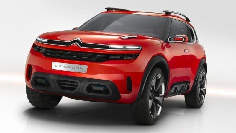 Viitorul SUV bazat pe Citroen Aircross Concept va fi produs în Franța