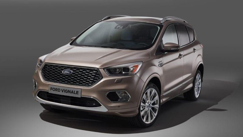 Ford Kuga facelift primește tratamentul Vignale
