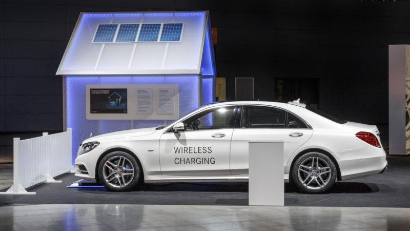 Mercedes-Benz S500e facelift o să integreze un sistem de reîncărcare wireless