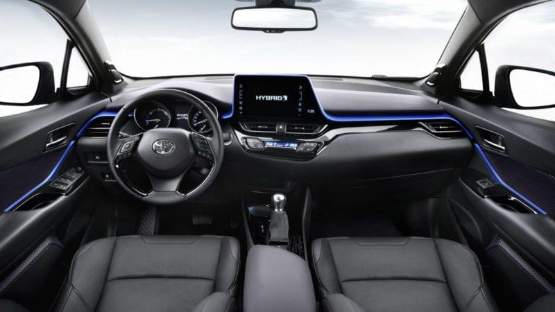 Imagini cu interiorul lui Toyota C-HR