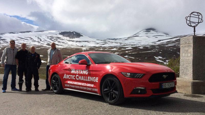 Un Ford Mustang 2,3 EcoBoost ne arată că este și frugal. 1.249 de kilometri cu un singur plin