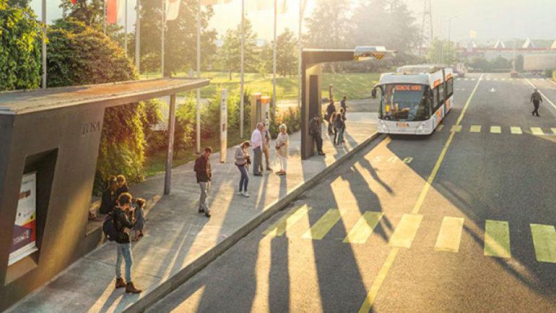 """Elvețienii vor puncte de încărcare rapidă pentru autobuze. Un """"plin"""" va dura mai puțin de 5 minute"""
