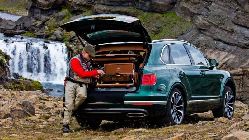 Un Bentley Bentayga special pentru pescari
