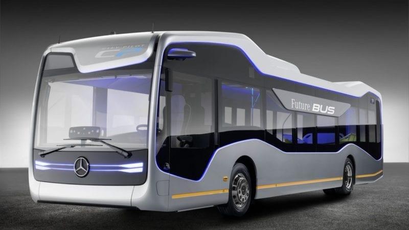 Autobuzul viitorului e aici: Mercedes-Benz Future Bus