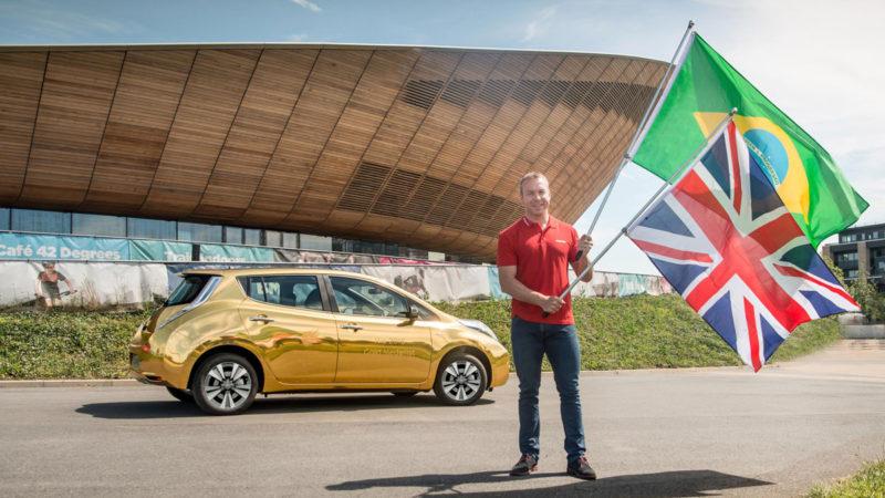 Olimpiada de la Rio: Fiecare britanic medaliat cu aur va primi un Nissan Leaf