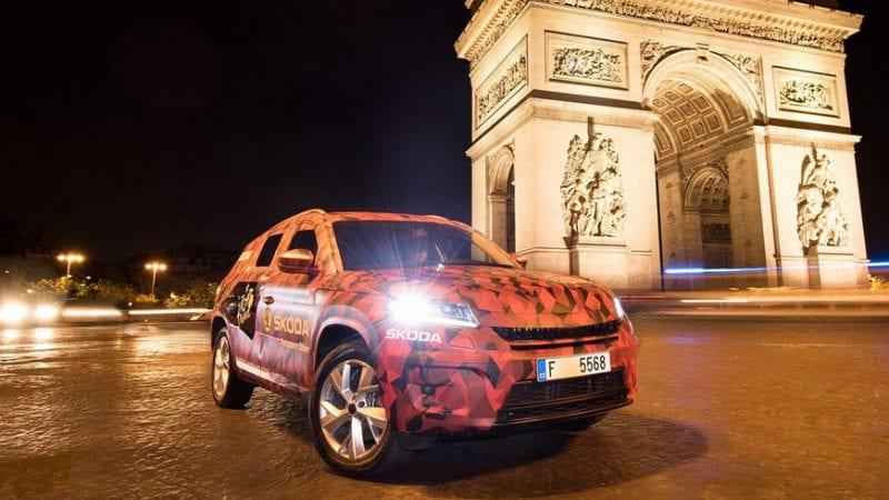 Skoda Kodiaq a avut parte de un shooting în Paris