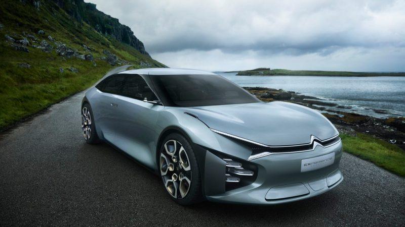 Citroen CXperience, conceptul hibrid care va debuta la Paris