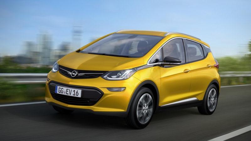 Opel Ampera-e va fi prezentat la Paris