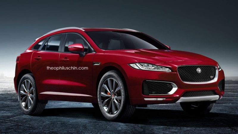 Jaguar C-Pace, imagini digitale cu viitorul rival pentru X4