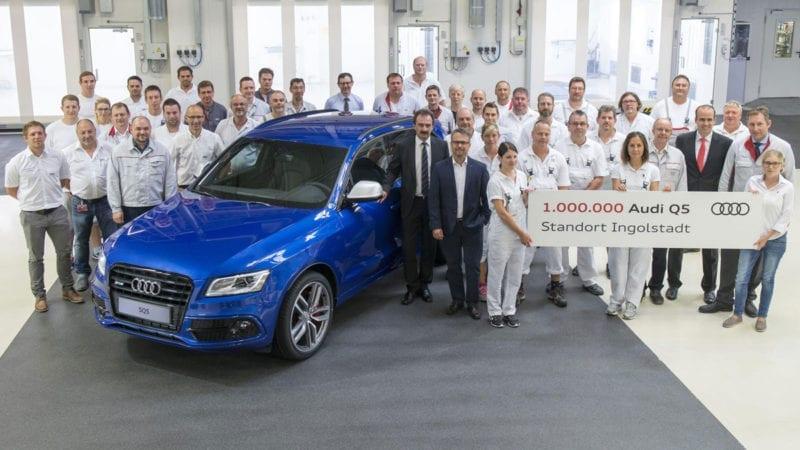 Audi a produs un milion de exemplare Q5 la uzina din Ingolstadt