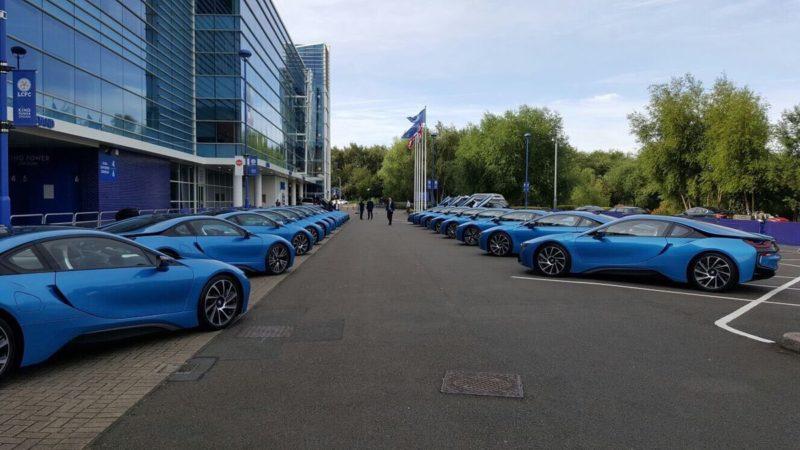Jucătorii echipei Leicester City au primit câte un BMW i8